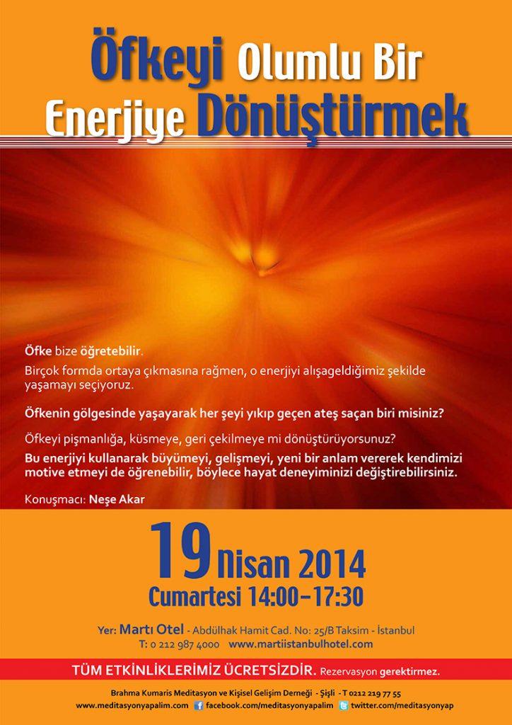 Neşe Akar - Öfkeyi Olumlu Bir Enerjiye Dönüştürmek
